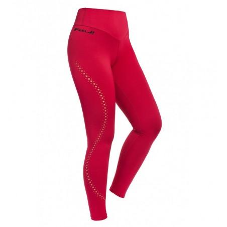 Red Push Up Buttom Leggings
