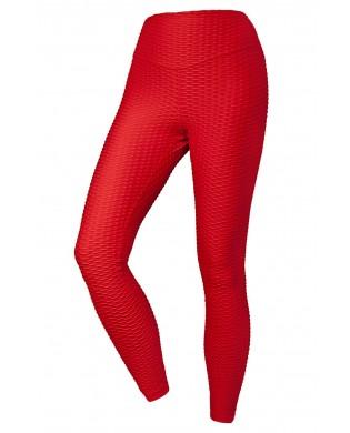 Leggings Anti-Cellulite Fantasy Rouge