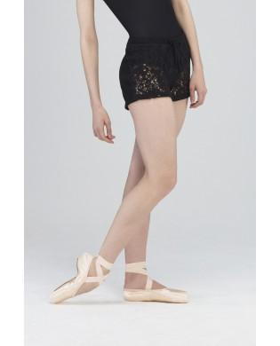 Short de danse noir Wearmoi Fango pour femme pour l'échauffement