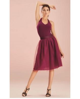 Purple Tulle Dance Skirt