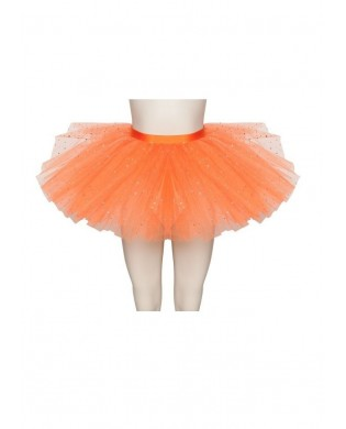 Tutu de Danse avec strass Orange