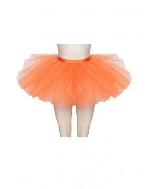 Tutu de Danse avec strass Orange