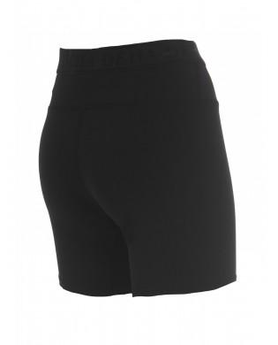 Damen-Shorts aus Baumwolle mit halbem Oberschenkel Schwarz oder Weiss