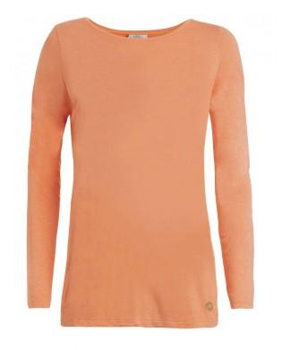 T-shirt Femme manches longues Yoga B44263 rose ou orange