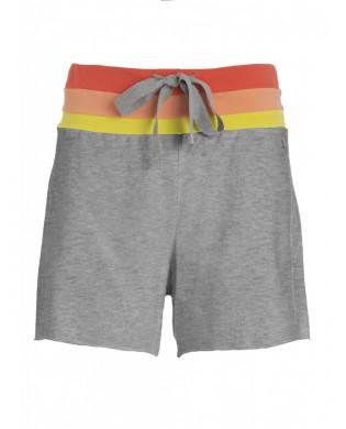 Damen-Sport-Shorts grau oder schwarz
