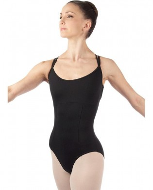 Black cross back Leotard