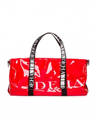 Grand sac de sport Vinyl Rouge B24932 DEHA