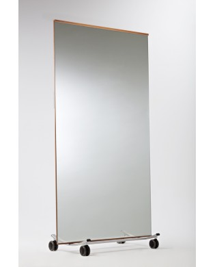 Mobile Mirror for Dance, Fitness, Yoga Studio - large size