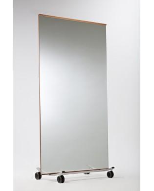 Mobiler Spiegel für Tanz, Fitness, Yoga-Studio - groß