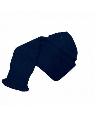 Navy blue dance leg warmer