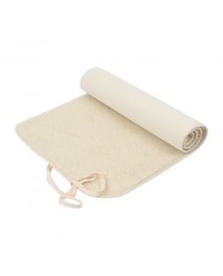 Yoga Matte aus Merinowolle