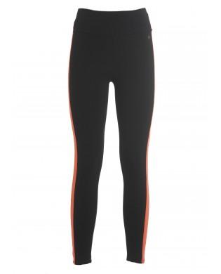 Women's leggings Black striped