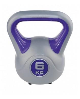 Kettlebell 6 kg violet, Sveltus