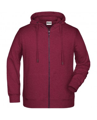 Bordeaux Sweatshirt mit Kapuze