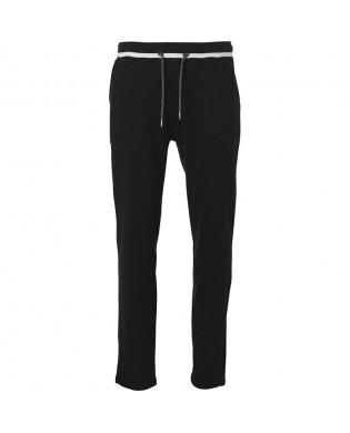 Pantalon Jogging droit Noir pour Homme