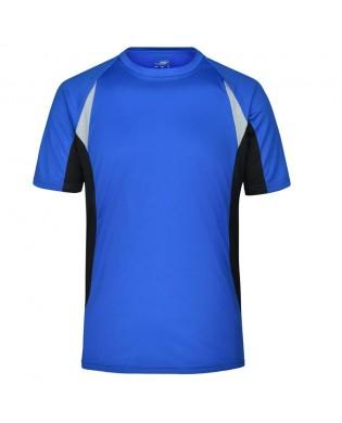 T-Shirt Sport Homme Bleu Royal