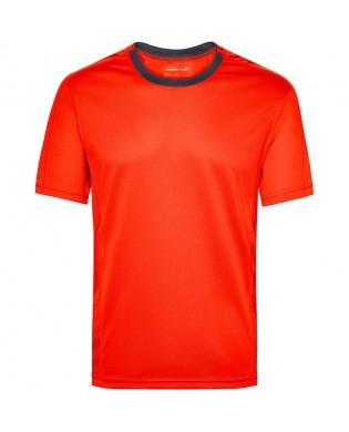 T-Shirt Sport Homme  Orange Grenadine