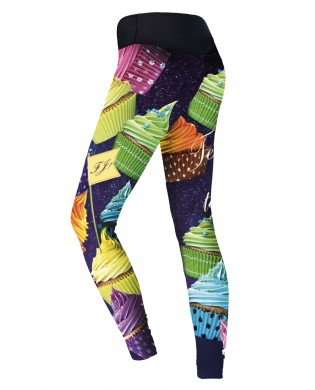 Women's Sport Leggings Muffins