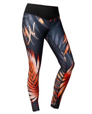 Leggings Sport Femme Paradis Corail