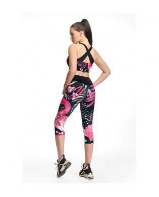 Women's Sport Leggings 3/4 Exotic