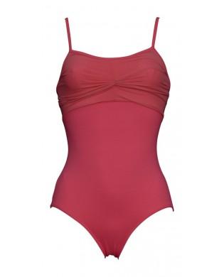 Coral Red ballet Leotard