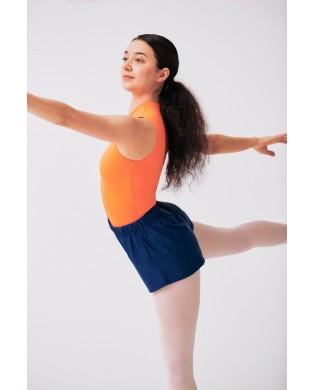 Women's Dance Leotard Zip in orange CREORA by SMK