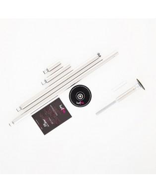 Lupit Pole Dance Stange Diamond G2 Quick Lock System in Chrom oder Edelstahl mit Swarovski-Strasssteinen