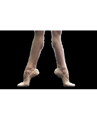Chaussons de danse Demi-Pointes Stretsch Toile Ceres Wearmoi du 29 au 35