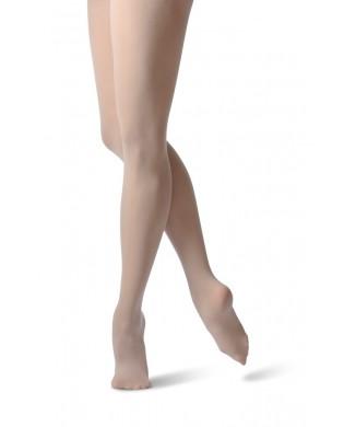 Collant de Danse sans démarcation Beige
