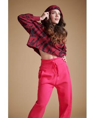 Sweatshirt Sport Femme à capuche DEHA B54081 Bordeaux