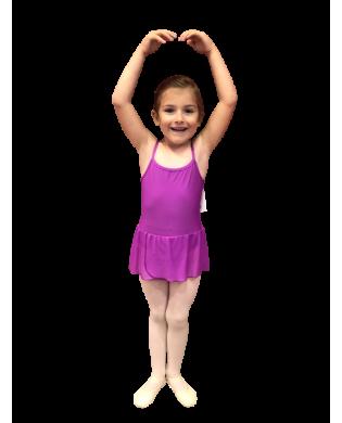 Tunique danse classique fille Danaé rose violet MT83 - ORCHIDEA Baïlarem