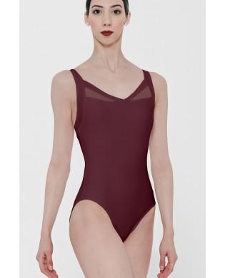 Justaucorps danse Femme Bordeaux Wear Moi modèle Cypres