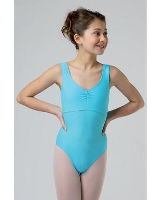Girl's Blue Azurin Vicard Dance J70 Leotard