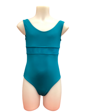 J6 Lilimay Leotard for girls in Menthe -Mint