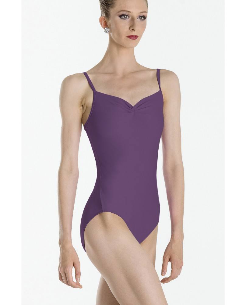 Abbie dance leotard purple plum