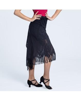 Ballroom Skirt in black Lace