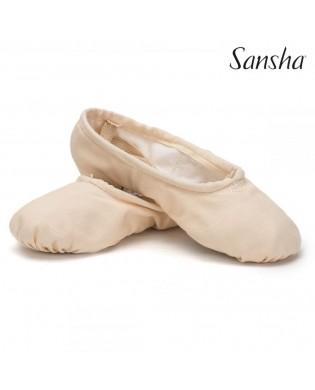 Sansha 1C Pro Ballett-Schläppchen rosa