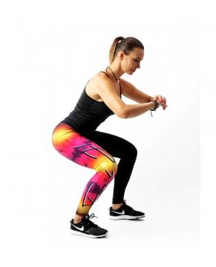 Legging Sport Femme Effet...