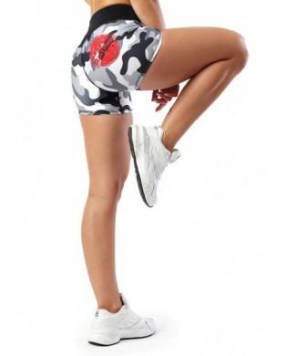 Damen Camouflage Sport-Shorts