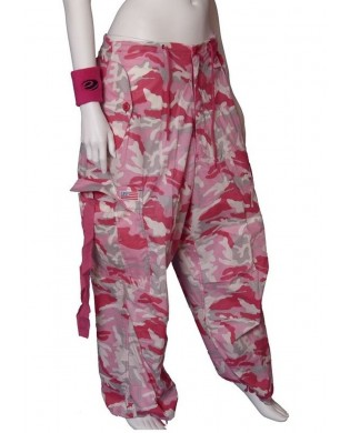 Baggy UFO Danse & Fitness Homme & Femme Camouflage rose