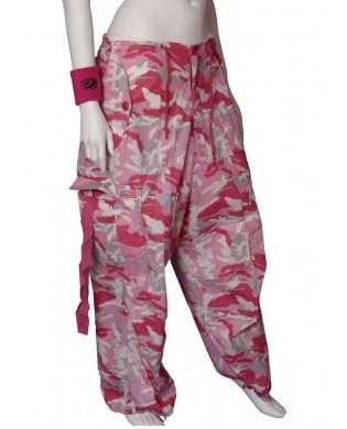 Baggy UFO Danse & Fitness Homme & Femme Camouflage rose