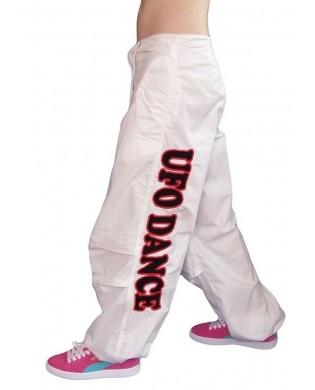 Pantalon Danse Unisexe Blanc