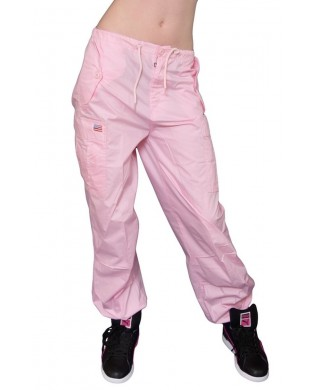 Pantalon Baggy hip hop enfant rose