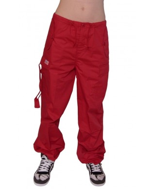 Baggy hip hop trousers for children Red