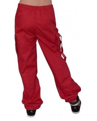 Pantalon Baggy hip hop enfant Rouge paprika