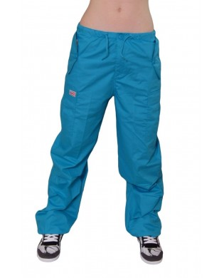 Baggy hip hop trousers for children Turquoise
