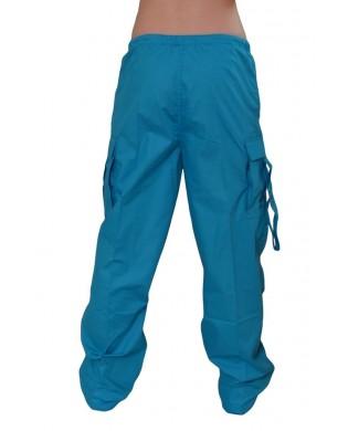 Pantalon Baggy hip hop enfant Turquoise