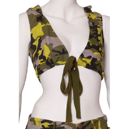 Green Camouflage sport Hoodie