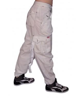 Pantalon Sport Homme & Femme Coton Blanc