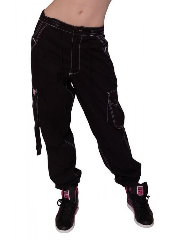Pantalon Sport Homme & Femme Coton Noir